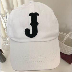Accessories - White cotton twill baseball cap